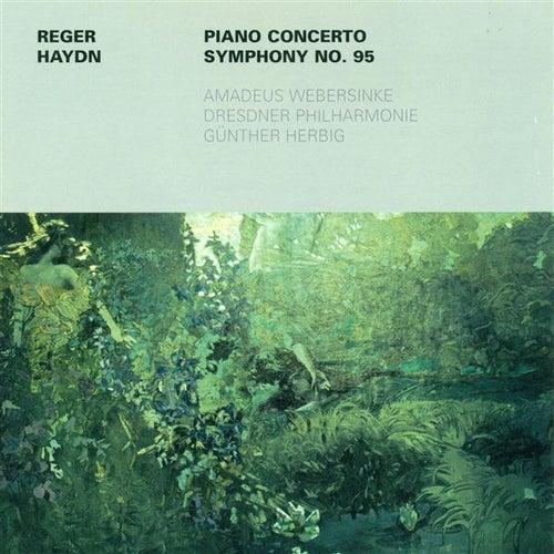 REGER, M.: Piano Concerto, Op. 114 / HAYDN, F.J.: Symphony No. 95 (Webersinke, Dresden Philharmonic, Herbig) de Gunther Herbig