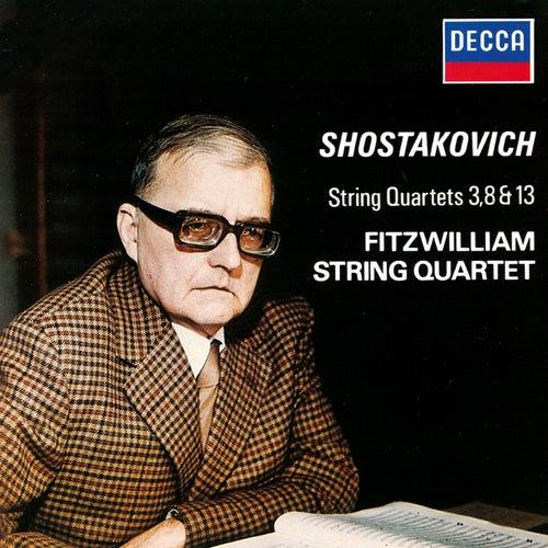 Shostakovich: String Quartets Nos. 3, 8 & 13 von Fitzwilliam Quartet