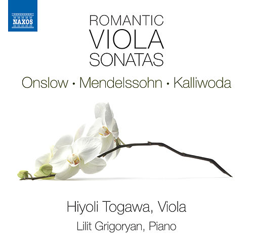 Romantic Viola Sonatas by Hiyoli Togawa