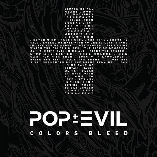 Colors Bleed de Pop Evil