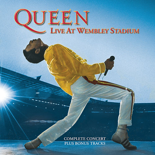 Live At Wembley Stadium by Queen