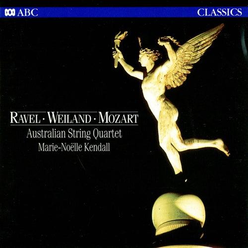 Ravel – Weiland – Mozart von Australian String Quartet