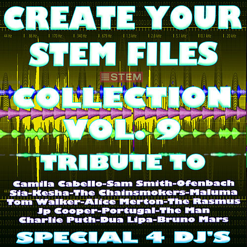Create Your Stem Files Collection, Vol. 9 (Special Instrumental Versions And tracks with separate sounds [Tribute To Camila Cabello-Tom Walker-Ofenbach-Jp Cooper Etc..]) by Express Groove
