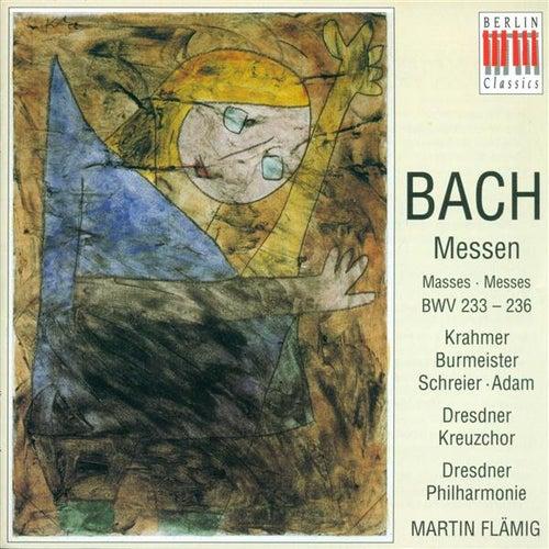 BACH, J.S.: Masses - BWV 233-236 (Flamig) von Peter Schreier