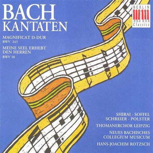 BACH, J.S.: Cantatas - BWV 10, 243 (Rotzsch) by Doris Soffel