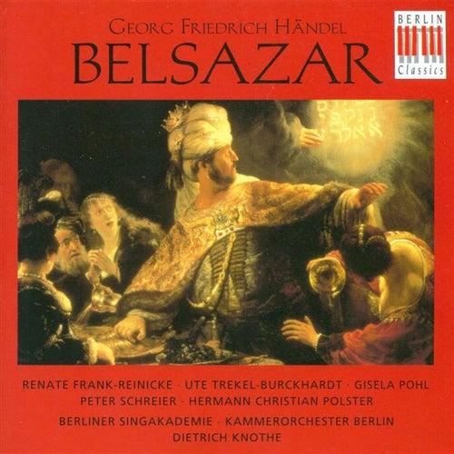 HANDEL, G.F.: Belshazzar (Sung in German) [Opera] (Schreier) de Peter Schreier