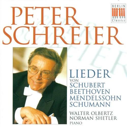 Vocal Recital: Schreier, Peter - SCHUBERT, F. / BEETHOVEN, L. van / MENDELSSOHN, Felix / SCHUMANN, R. von Peter Schreier