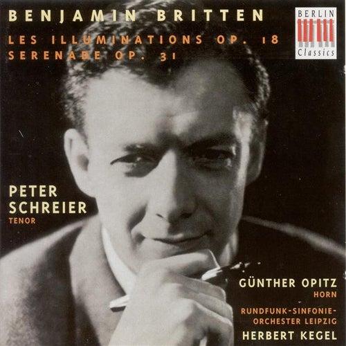 BRITTEN, B.: Illuminations (Les) / Serenade (Schreier, Opitz, Leipzig Radio Symphony, Kegel) de Peter Schreier