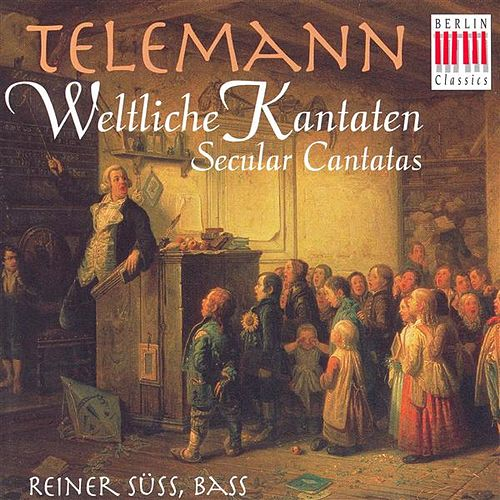 TELEMANN, G.P.: Cantatas (Secular) - TWV 20:37, 48, 57, 66 (Suss) von Various Artists