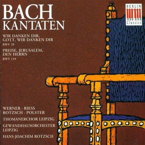 BACH, J.S.: Cantatas - BWV 29, 119 (Rotzsch) von Heidi Riess