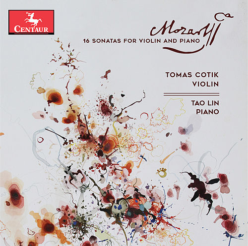 Mozart: 16 Sonatas for Violin & Piano by Tomás Cotik