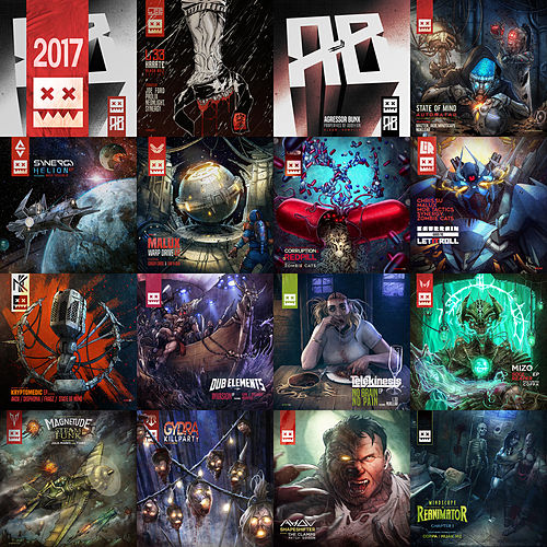 Eatbrain:2017 by Various Artists