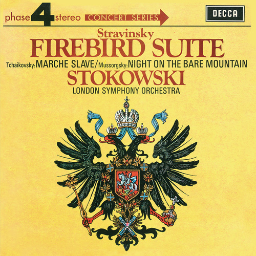 Mussorgsky: Night on the Bare Mountain /Stravinsky: The Firebird Suite de Leopold Stokowski