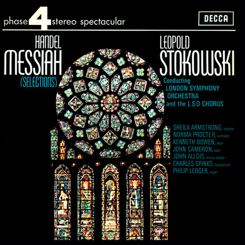 Handel: Messiah (Highlights) de Leopold Stokowski