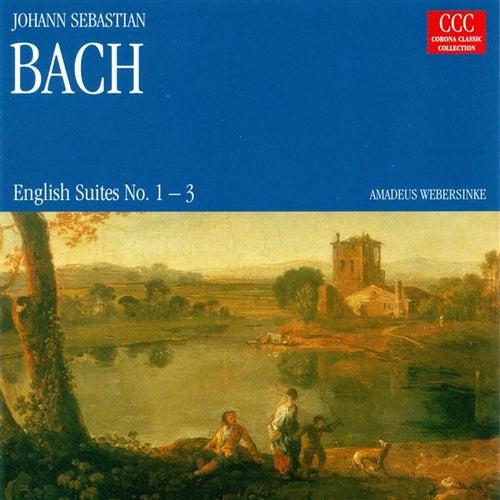 BACH, J.S.: English Suites Nos. 1-3 (Webersinke) de Johann Sebastian Bach