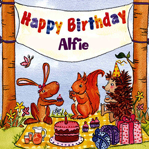 Happy Birthday Alfie von The Birthday Bunch
