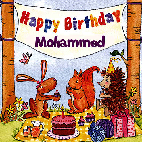 Happy Birthday Mohammed von The Birthday Bunch