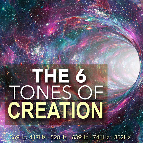 The 6 Tones of Creation - Sacred Solfeggio Frequencies, Healing Musical Soundscapes for Spa & Deep Relaxation de Solfeggio Frequencies 528Hz