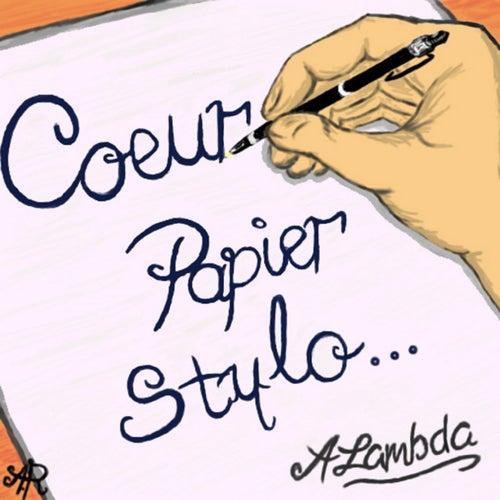 Coeur papier stylo... by ALambda