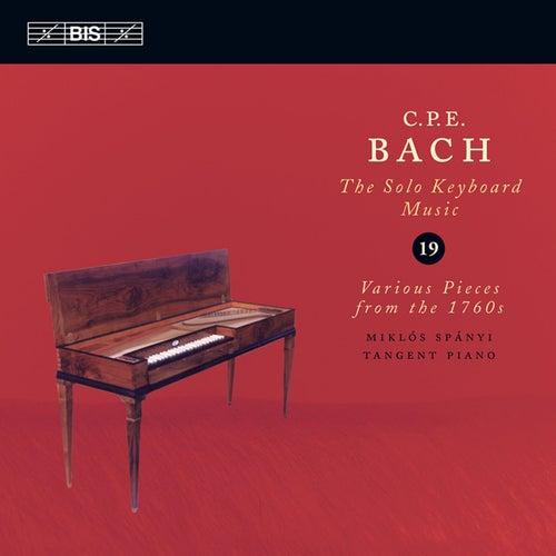 BACH, C.P.E: Keyboard Music, Vol. 19 (Spanyi) von Miklos Spanyi