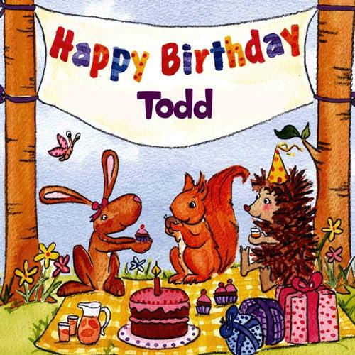 Happy Birthday Todd von The Birthday Bunch