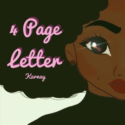 4 Page Letter de Karnay