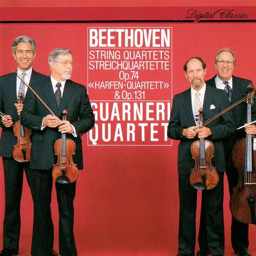 Beethoven: String Quartets Nos. 10 (Harp) & 14 de Guarneri Quartet