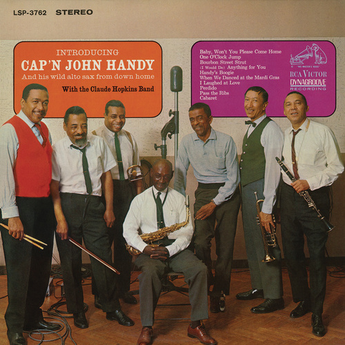 Introducing Cap'n John Handy and His Wild Sax From Down Home by Cap'n John Handy
