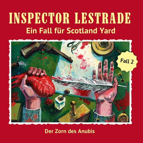 Ein Fall für Scotland Yard: Der Zorn des Anubis von Inspector Lestrade