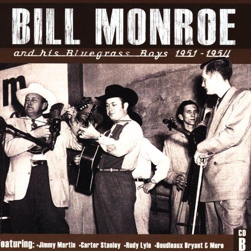 Bill Monroe CD B: 1951-1954 de Bill Monroe