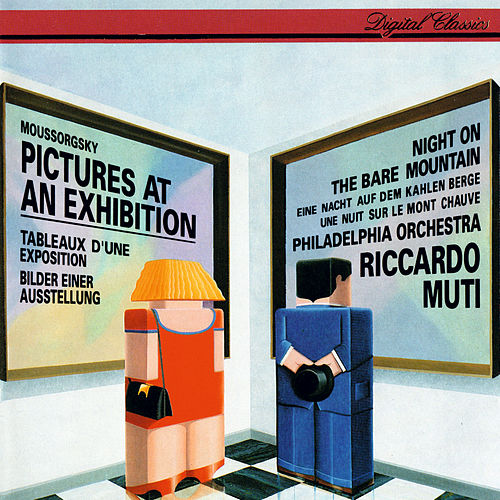 Mussorgsky: Pictures At An Exhibition; A Night On The Bare Mountain by Riccardo Muti