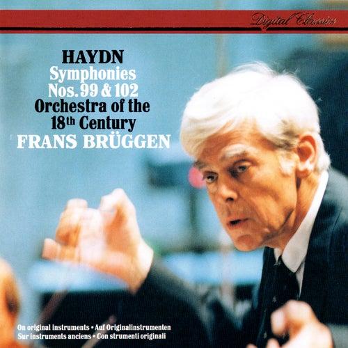 Haydn: Symphonies Nos. 99 & 102 von Frans Brüggen