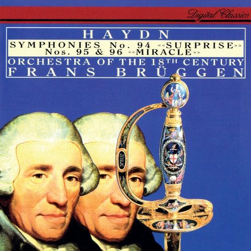 Haydn: Symphonies Nos. 94, 95 & 96 von Frans Brüggen
