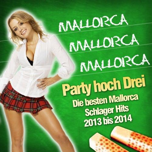 Mallorca Mallorca Mallorca - Party hoch Drei - Die besten Mallorca Schlager Hits 2013 bis 2014 von Various Artists