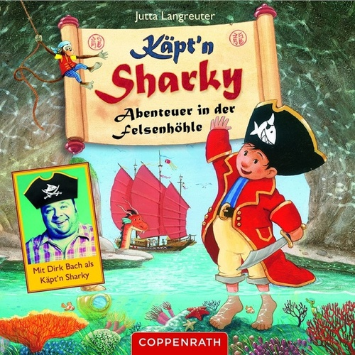 Abenteuer in der Felsenhöhle von Käpt'n Sharky