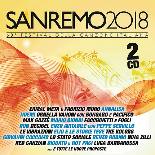 Sanremo 2018 von Various Artists
