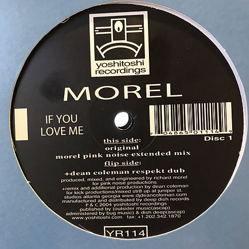 If You Love Me by Morel