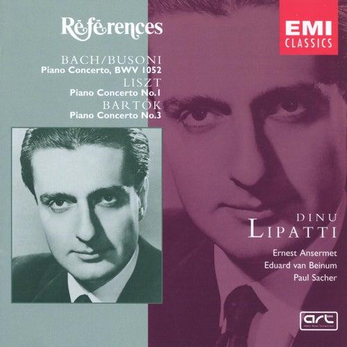 Bach/Busoni, Liszt, Bartok: Piano Concertos by Dinu Lipatti