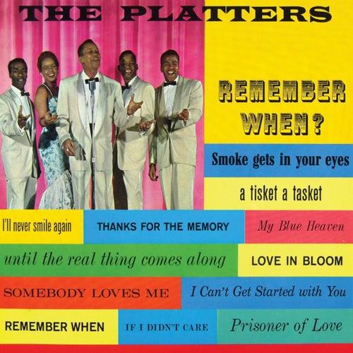 Remember When? von The Platters