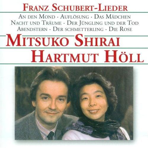 SCHUBERT, F.: Lieder - D. 296, 491, 545, 633, 652, 658, 684, 745, 751, 756, 772, 775, 806, 807, 827b, 828, 833, 871, 878 (Shirai, Holl) by Mitsuko Shirai