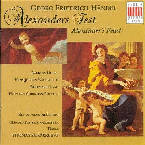 HANDEL, G.F.: Alexander's Feast (Sung in German) (Sanderling) de Rosemarie Lang