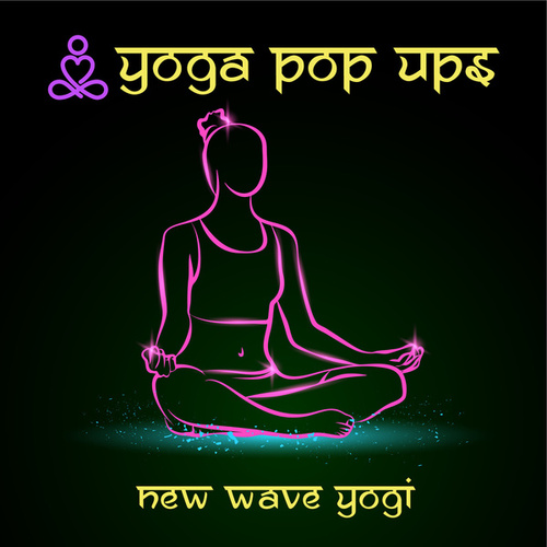 New Wave Yogi von Yoga Pop Ups