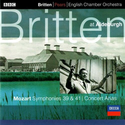 Mozart: Symphonies Nos. 39 & 41; 2 Concert Arias von Benjamin Britten