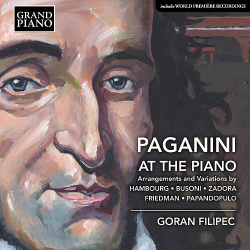 Paganini at the Piano by Goran Filipec