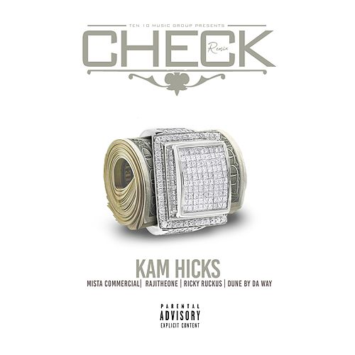 Check (Remix) [feat. Mista Commercial, Dune By Da Way, RAJITHEONE & Ricky Ruckus] von Kam Hicks