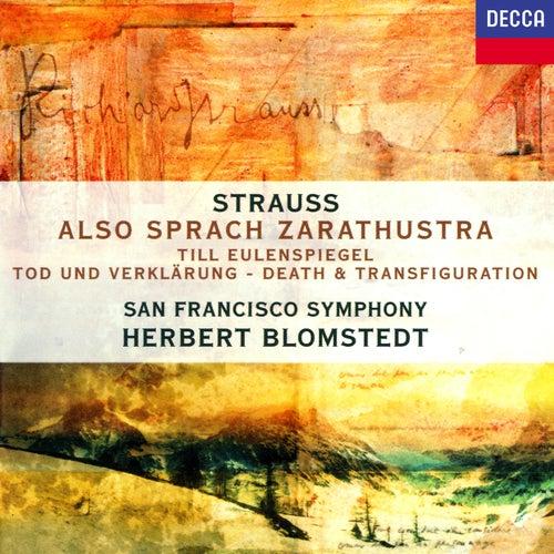 Richard Strauss: Also sprach Zarathustra; Tod und Verklärung; Till Eulenspiegels lustige Streiche de Herbert Blomstedt