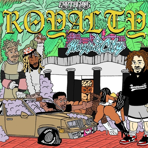 Royalty van EARTHGANG