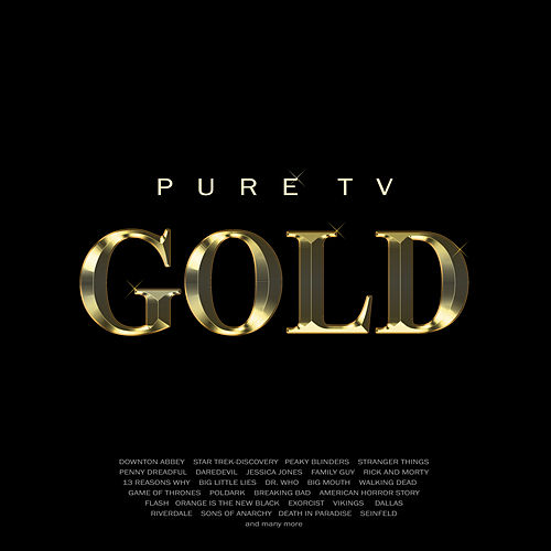 Pure TV Gold de Roger Melly