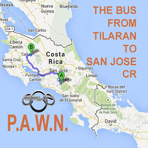 The Bus from San Jose to Tilaran by DJ Pawn