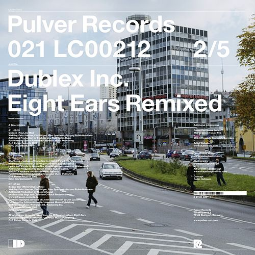 Eight Ears Remixed de Dublex Inc.